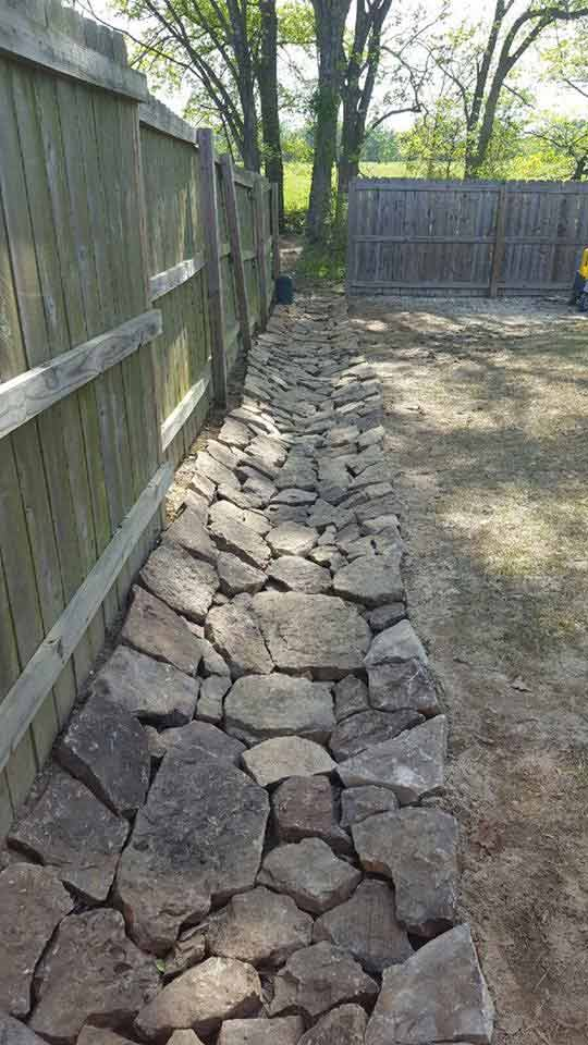 Dry Creek Beds and Drainage Gallery | D & G Contacting, LLC