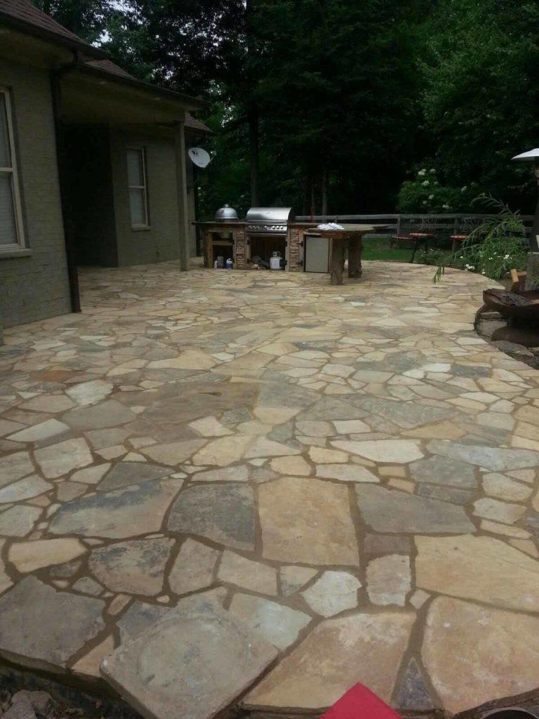 Stone Patio Walkways Gallery
